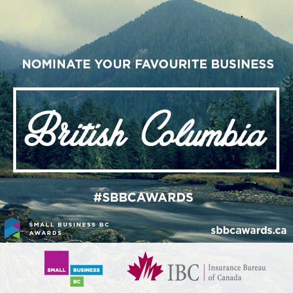 Two Local Businesses in Abbotsford Nominated for 13th Annual Small Business BC Awards 2015